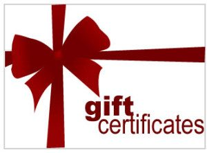 Paintball gift certificates