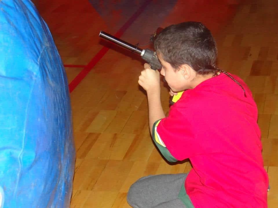 Kids love laser tag