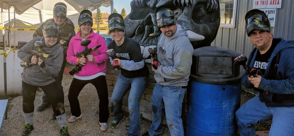 Paintball Corporate Team Building