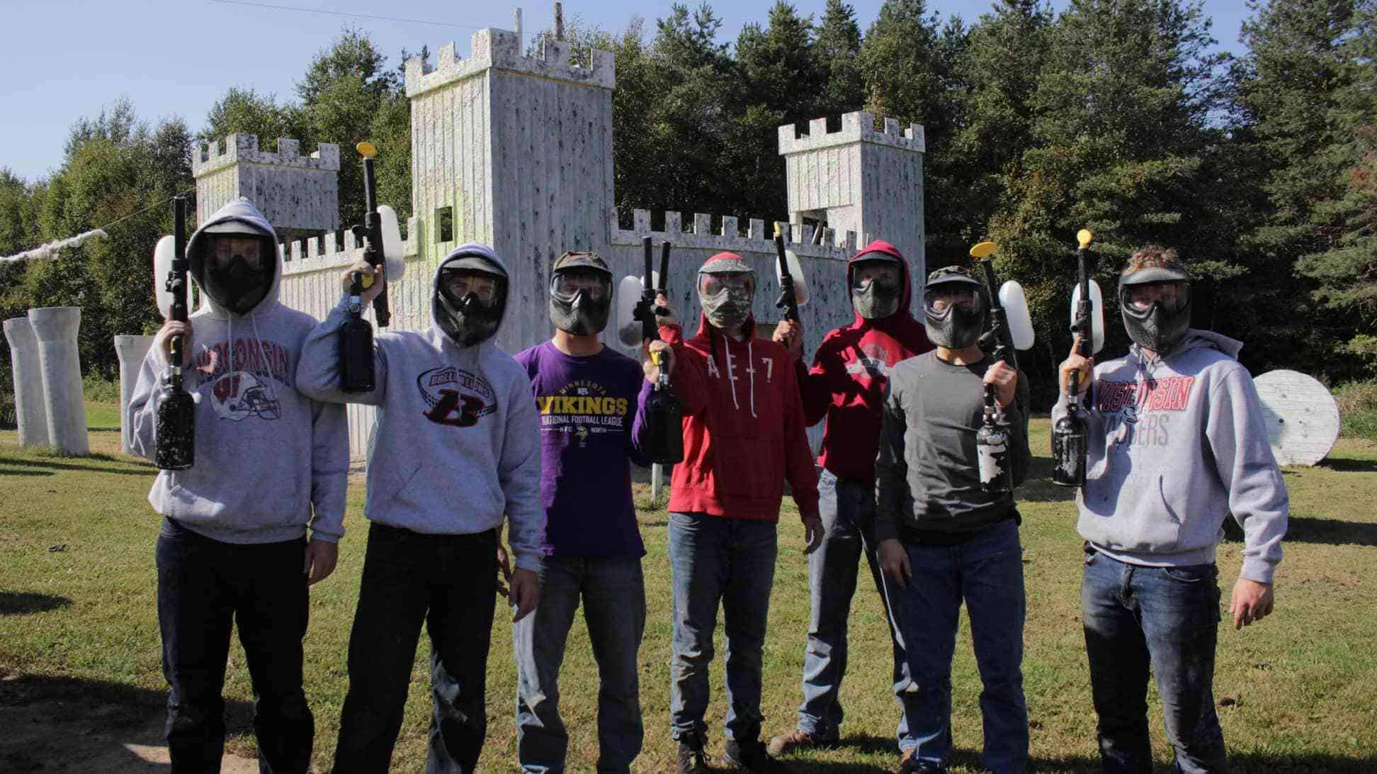 paintball party for boys