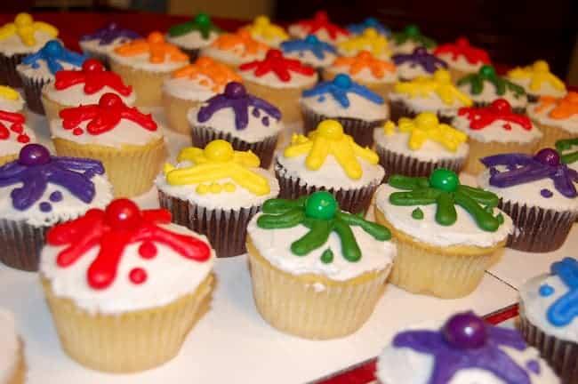 birthday party cupcakes